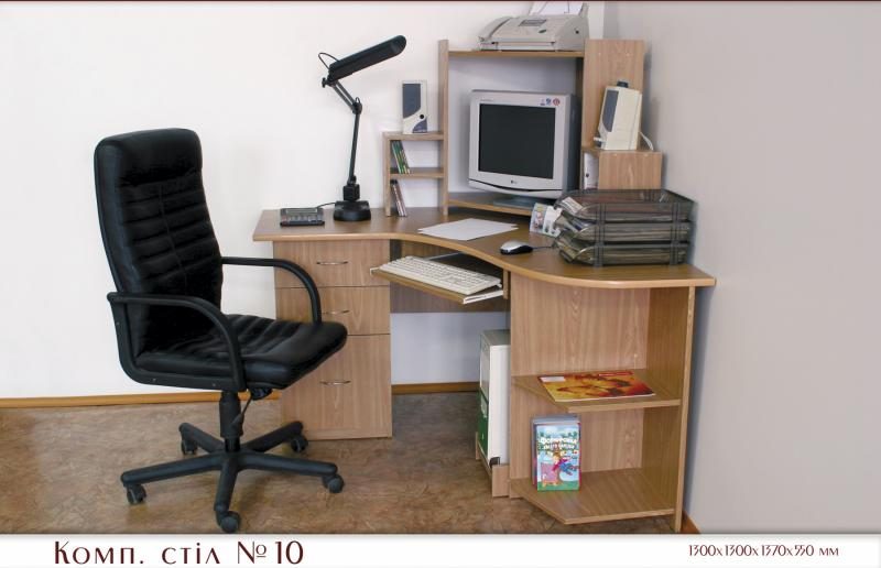 """Компьютерные столы мебельная фабрика """"світлиця""""."""